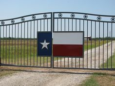 TEXAS FLAG INSET GATE    Repinned #Rx4Nails Made in Texas, USA
