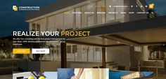 Here are some of the best construction company WordPress themes 2017 for building, contractor, architect or business related websites. Service Projects, Fun Projects, Wordpress Theme, This Is Us, Construction, Business, Building, Outdoor Decor, Home