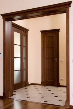 Image result for межкомнатные порталы Interior Window Trim, Kerala House Design, Home Interior Design, Kitchen Room Design, Wood Doors Interior, House Main Door Design, Wooden Panelling, Bathroom Interior Design, Luxury Kitchen Design