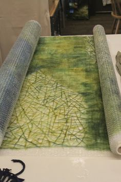 The Tin Thimble: Pine Needle Felt
