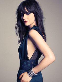 Zoey Deschanel as Josephine Nolan my inspiration