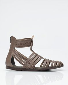 29 Palms by Jeffrey Campbell  I like how these gladiators are named after an actual place that is near-ish Indio (Coachella).