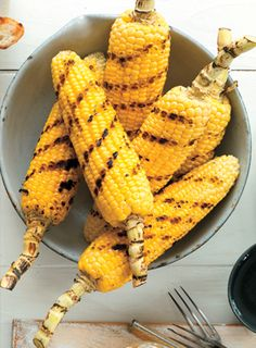Grilled Corn With Cumin-Lime Compound Butter, Fit Pregnancy Summer Barbeque, Barbecue, Bbq Grill, Grilling, Veggie Main Dishes, Side Dishes, Healthy Pregnancy Snacks, Corn Recipes, Vegetable Recipes