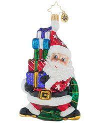 Christopher Radko Santa Balancing Act Ornament, Created for Macy's