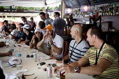 """Todos nuestros invitados llegan a Playa del Carmen donde una excelente comida los espera en el restaurant """"Di Vino"""""""