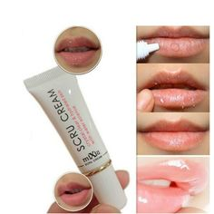 Mixiu Lip Scrub Removal Horniness Crystal Clear Hydrated With Water Science Lips Exfoliating Gel