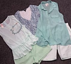 """Remember that amazing """"mint"""" color we've been raving about every week? Well we keep getting SO many adorable pieces!"""