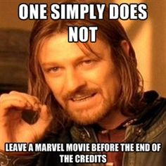 For realz....have you people never seen a Marvel movie before?!