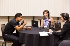 "Mario Lopez is talking about his autobiography, ""Just Between Us"" on  KDAWG College Radio. 2015"