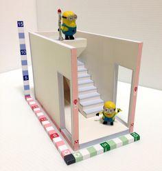 stairwell unit ~~model B-001 in process