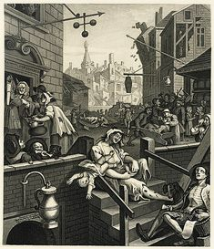 Gin Craze - Wikipedia Framed Prints, Poster Prints, Canvas Prints, William Hogarth, Slums, A0 Poster, 18th Century, Gifts In A Mug, Gin