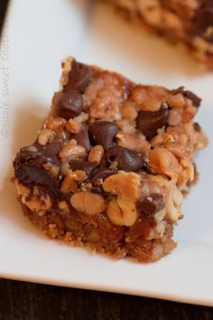 """Sweet and salty is here to stay. Everyone has heard of the 7 layer or """"magic bars"""", right? In a way, these remind me of those bars, but they are a bit more modern for today's taste with the use of..."""