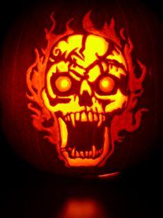 Mark Ratliff pumpkin carving
