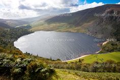 Guinness Lake, Loch Tay in Wicklow Mountains Ireland