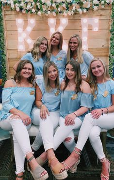 Light blue and white sorority recruitment outfits kappa kappa gamma