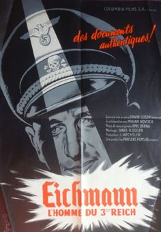 eichmann l'homme du troisième reich film   Affiches de cinéma - vente aux enchères