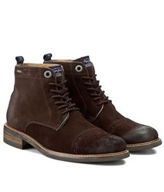 Ghete Piele Intoarsa Barbati Pepe Jeans   Cea mai buna oferta Pepe Jeans, High Tops, High Top Sneakers, Mai, Brown, Shoes, Fashion, Moda, Shoes Outlet