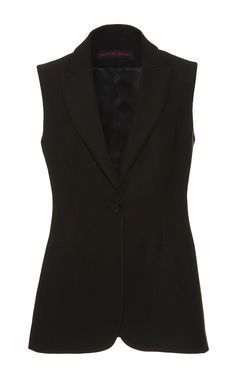 Tuxedo Vest Gilet by MARTIN GRANT for Preorder on Moda Operandi