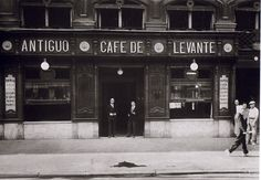 Antiguo Café de Levante (1935) - Madrid (Spain)