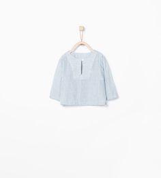 ZARA - MINI - Mixed stripe shirt