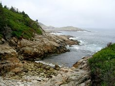 Duncan's Cove, Nova Scotia. Great for hiking - the rugged landscape is so inspiring.