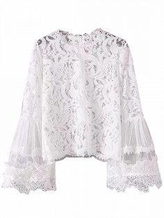 31f189c4b7d 30 Best White lace blouse images