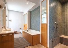 Colorful Loft in New York City, design, décor, interior, USA, New York, cozy, bright, bathroom