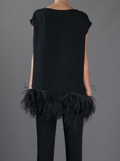 DRIES VAN NOTEN TUNIC ~ Feathered