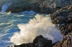 Otranto, il fascino del mare in tempesta