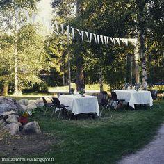 Party, garden, puutarha, juhlat, puutarhajuhlat, rippijuhlat