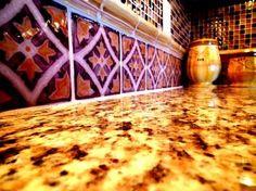 Kitchen Tile Designs - kitchen - phoenix - Mexican Tile and Stone