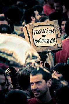 Excelentes imágenes de la actual protesta en España - Taringa!