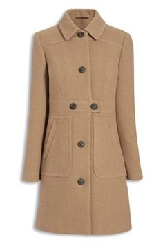 Buy Berry Button Front Coat from the Next UK online shop