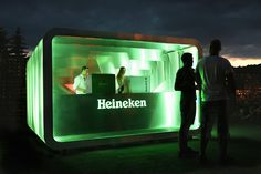 Heineken Pop Up bar - deform
