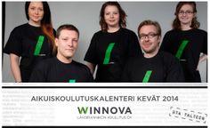 Aikuisten kevään 2014 koulutustarjonta yksissä kansissa. #WinNova #Pori #Rauma #Laitila