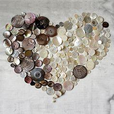 Valentinstag_diy_naehen_Perlmuttknoepfe-Liebe, Valentinstag, valentine, liebe, love, Knopf, Handmade, diy, Kurzwaren, sewing stuff, heart