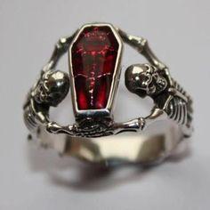Ring  http://www.westernshop.biz/Silberschmuck/925-Silber-Ring/Sarg-Ring-echt-925-Sterling-Silber.html