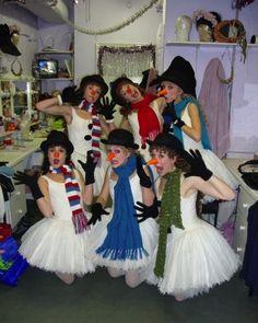 Ballet Snow-women :)