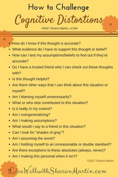 Kids Health How to challenge Cognitive distortion or stinking negative thinking - You can challenge cognitive distortions and replace them with more realistic and accurate thinking using CBT or cognitive behavioral therapy. Counseling Activities, School Counseling, Counseling Worksheets, Elementary Counseling, Cbt Worksheets, Elementary Schools, Self Care Worksheets, Group Counseling, Mental Health Counseling