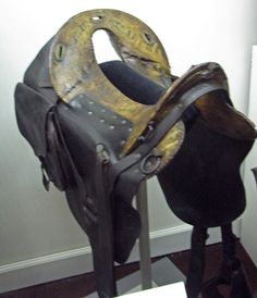 Museum of the Confederacy - JEB Stuart's saddle