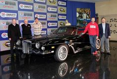 One of Elvis' Most Famous Vehicles Unveiled by Dale Earnhardt Jr. and Rick Hendrick