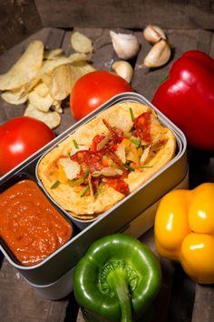 Monbento | Tortilla with crisps and chorizo
