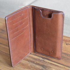 We designed the minimalistic, elegant wallet you seek and the iPhone 6 case you need. Then we combined the two, resulting in a highly funct Leather Art, Leather Gifts, Leather Design, Leather Tooling, Leather Wallet Pattern, Ring Der O, Iphone Leather Case, Leather Projects, Leather Accessories