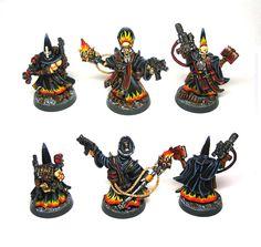 Redemptionniste Necromunda Underhive, Warhammer Models, Warhammer 40000, Space Marine, Minis, Modeling, Miniatures, Fantasy, Painting