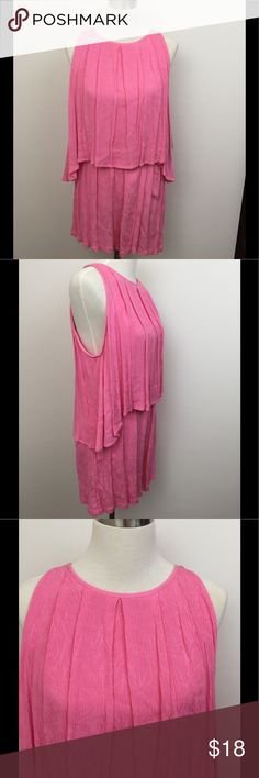 💐🆕 Pink Romper🌸 Pink Romper by Copper Key, sleeveless, 100% rayon, elastic waist NWT Copper Key Other