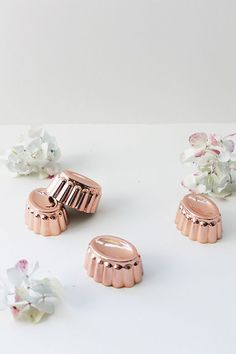 Slide View: Coppermill Kitchen Signature Jubilee Moulds, Set of 8 Copper Kitchen Accessories, How To Polish Copper, Bohemian Kitchen, Eye For Detail, Kitchen Collection, Modern Luxury, Appetizers For Party, Flute, Timeless Fashion