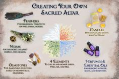 A sacred altar contains certain essential elements. The best part about it? YOU choose what goes on it! Get inspired to create your own special place for devotion, ritual, and practice.