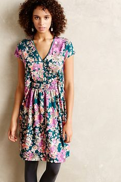 Rose Mallow Tunic Dress - anthropologie.com