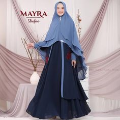 Defne Syari by Mayra Mehndi Designs For Beginners, Niqab Fashion, Dresses, Temples, Vestidos, Dress, Gown, Outfits, Dressy Outfits