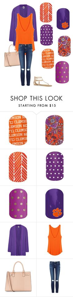 """""""Clemson Game Day"""" by alhucks ❤ liked on Polyvore featuring M Missoni, AG Adriano Goldschmied and Express"""